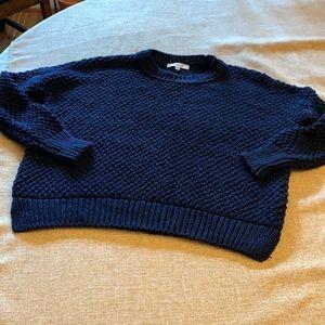Madewell cotton navy sweater